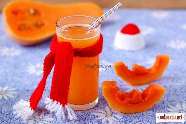 Гарбузово-цитрусовий напій