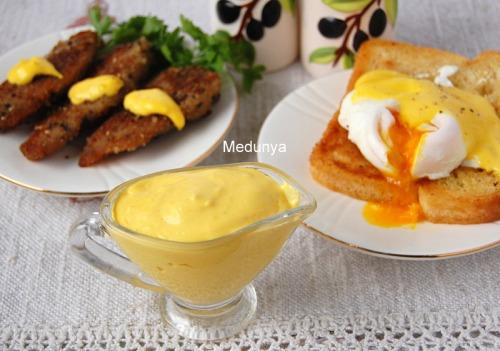 Голландський соус -  легкий спосіб приготування