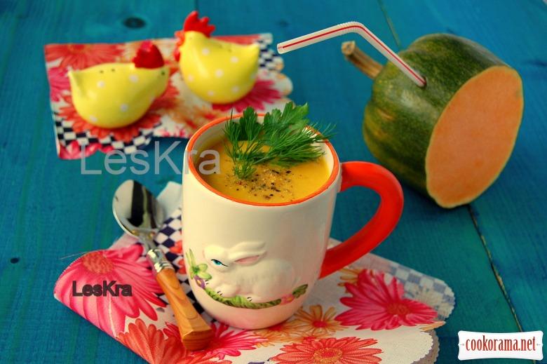 Имбирно-тыквенный суп-пюре