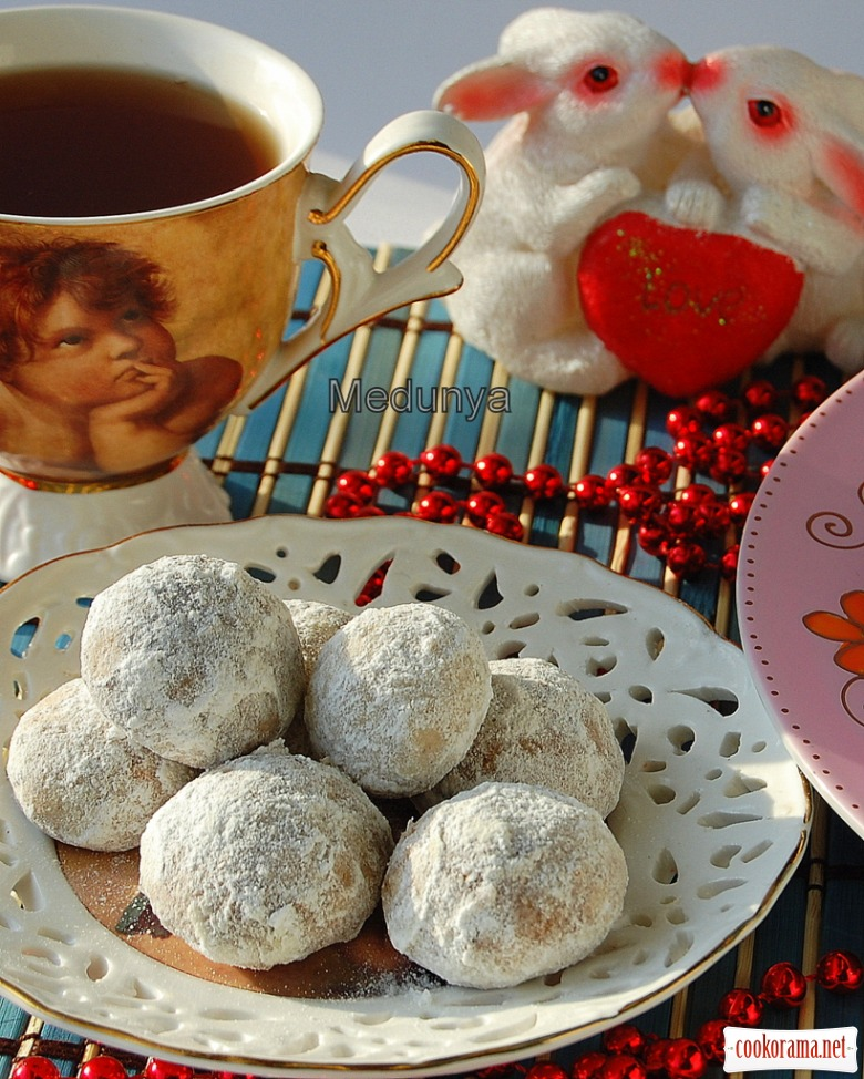 Мексиканське весільне печиво