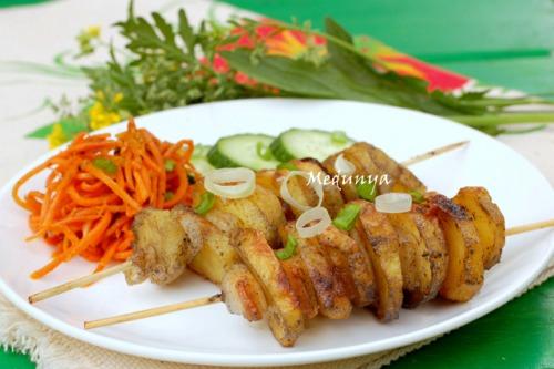 Картофель-кебаб