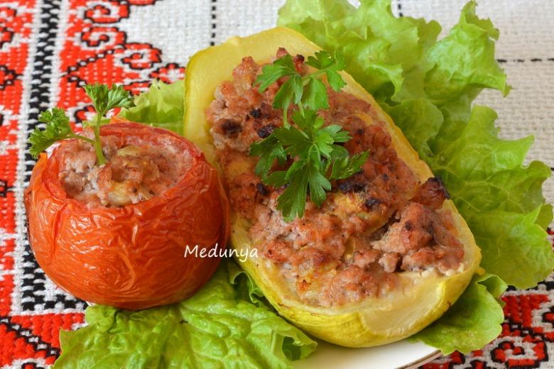 Фаршировані овочі