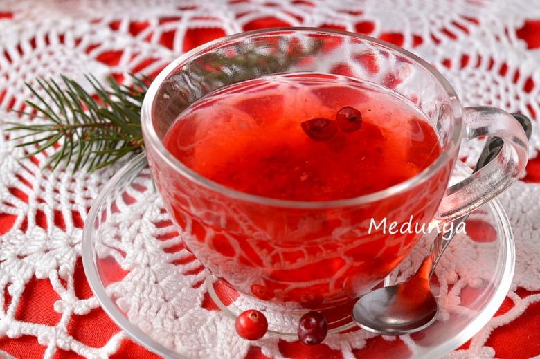 Чай з журавлини