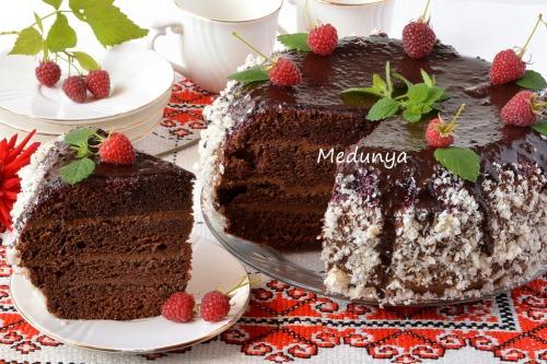 """Торт """"Шоколадна мить"""""""