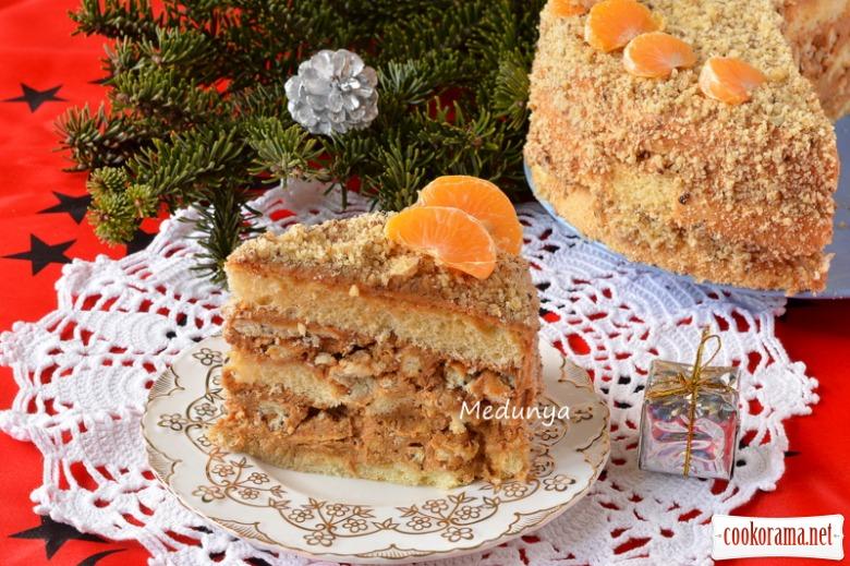 Торт «Ніжний хрумтик»