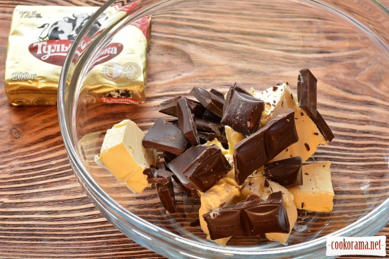 Пасхальний маково-шоколадний кекс