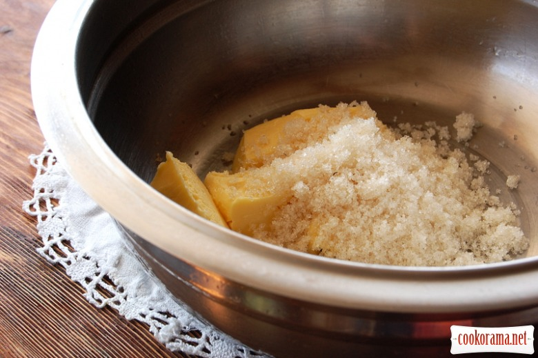 Кукурудзяно-горіхове печиво