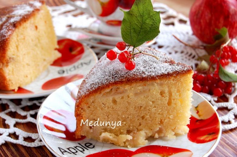 Апфелькухен - німецький яблучний пиріг