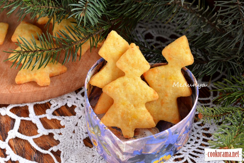 Crispy cheese trees