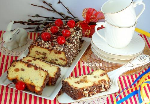 Сырник по-львовски с шоколадной помадкой (по рецепту Дарьи Цвек)