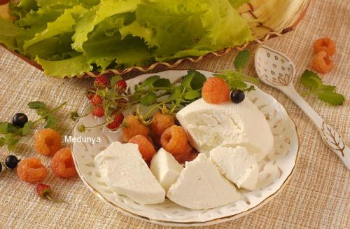 """Сыр типа """"Мизитра"""" в домашних условиях"""