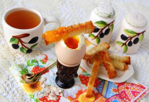 Идеально сваренное яйцо
