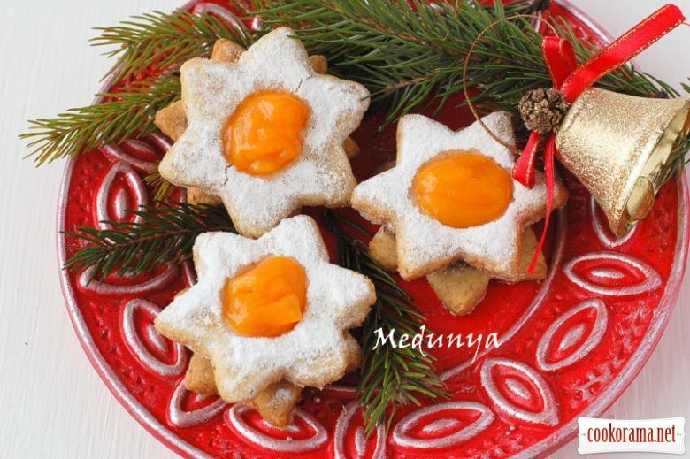 Vanocni hvezda - чешское рождественское печенье