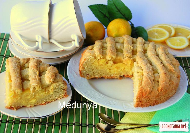 Тарт с лимонным кремом