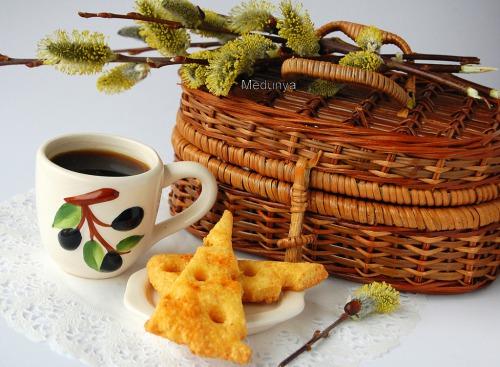 Французское сырное печенье