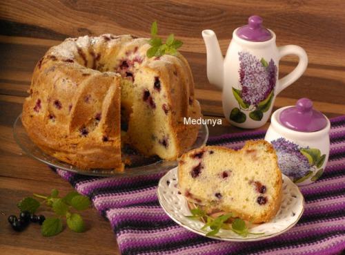 Идеальный ягодный кекс
