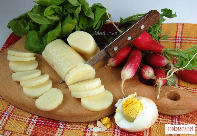 Домашний плавленый сыр - экономвариант (практически из ничего)