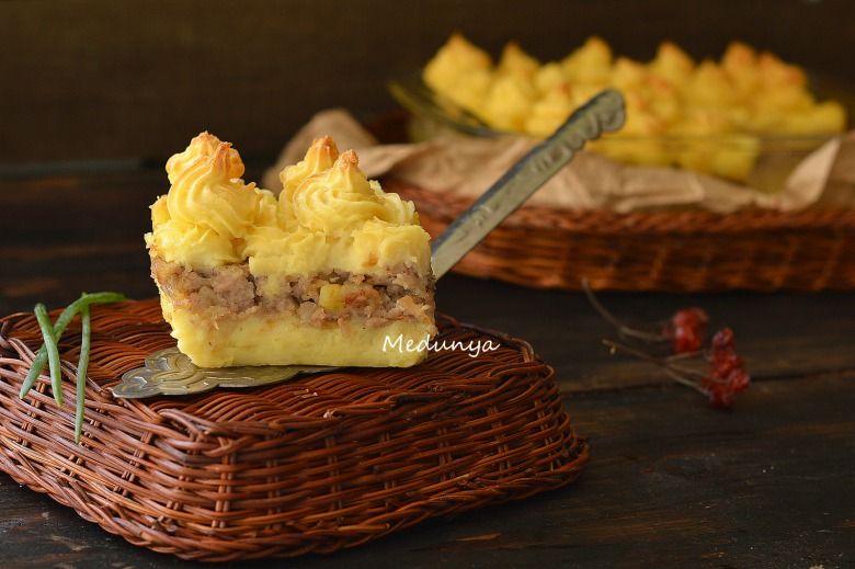 Potato casserole with chicken