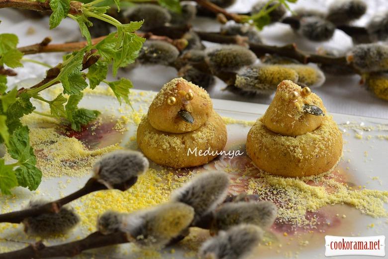 Печиво на варених жовтках «Курчатка»