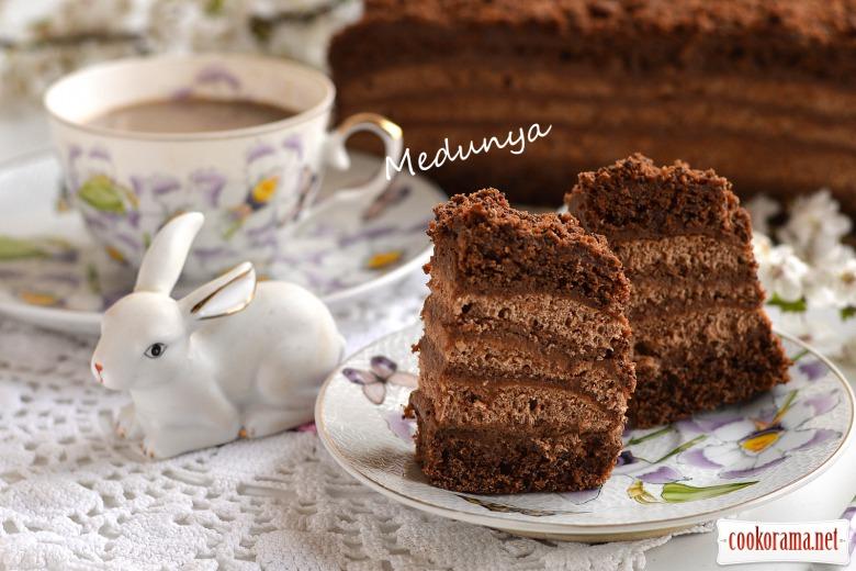 Пляцок «Шоколадна хатинка»