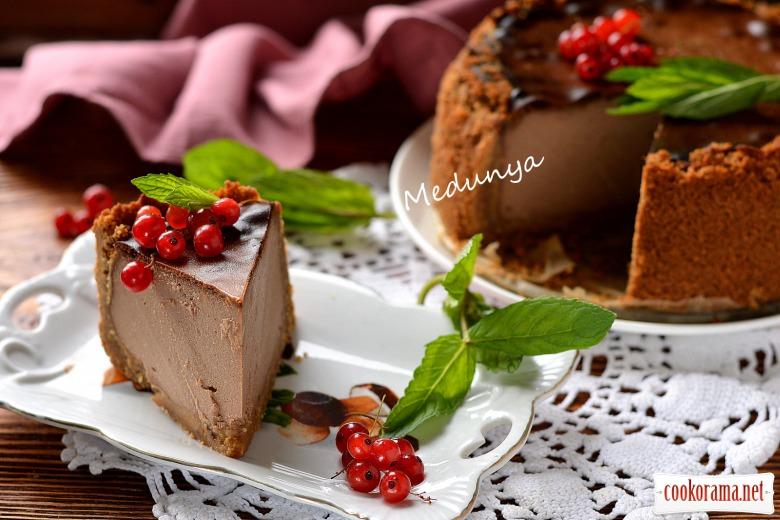 Шоколадно-кавовий сирник