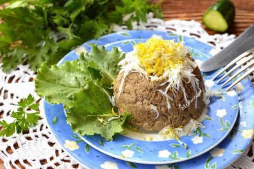 Печінковий паштет з овочами