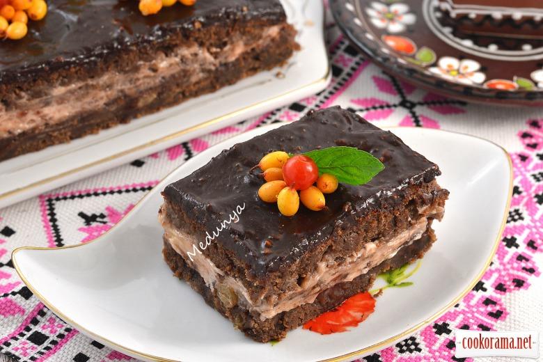 Пляцок «Шоколадний глінтвейн»