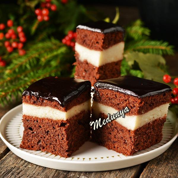 Шоколадно-кокосовий пляцок