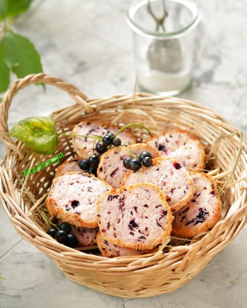 Смородинове печиво з кокосовою стружкою