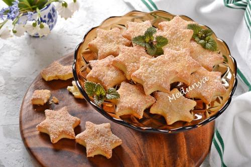 Пісне апельсинове печиво