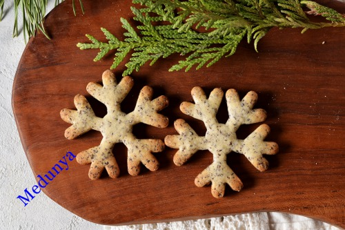 """Печиво """"Макові сніжинки"""""""