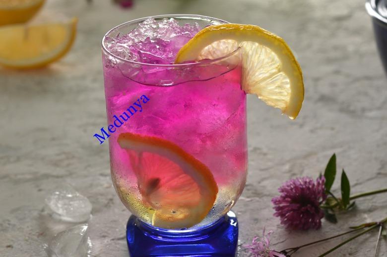 Напій із фіолетового базиліку