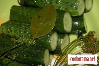 Огірки малосольні (мій варіант)