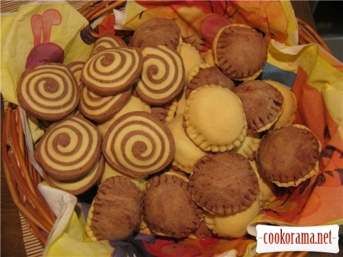 Печенье «Шляпки» и печенье «День и ночь»