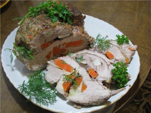 Свинина з рукава, смачно, ніжно, соковито ...