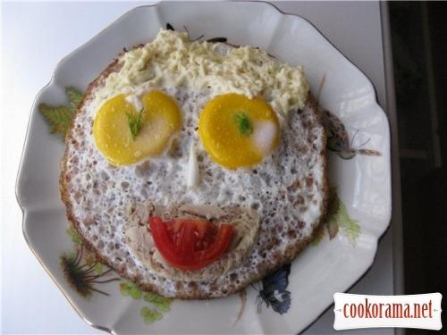 Яєшня з гречкою «Чудік»