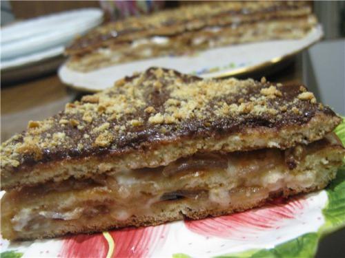 Торт за 30 хвилин, випечений на пательні :)