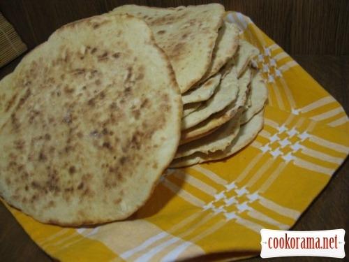 Коржи вместо хлеба рецепт