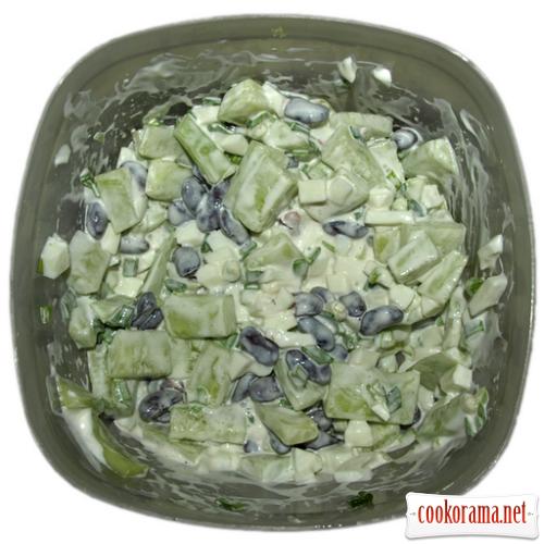 Салатик з огірочків