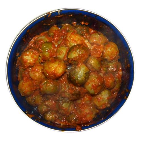 Капуста брюсельська в томаті