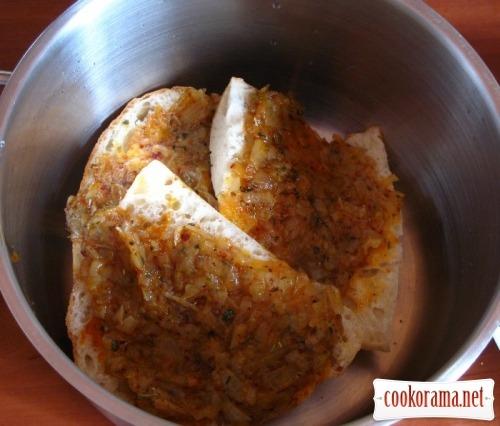 Луковый суп с корочкой