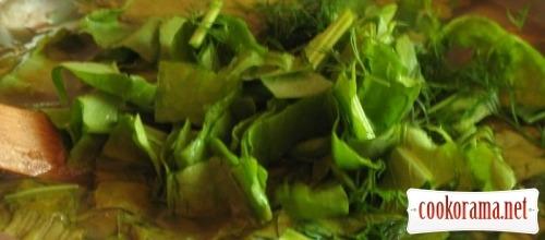 Зелений борщ