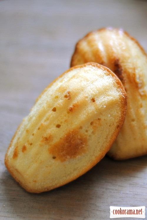 Печиво «Мадлен»