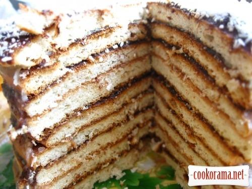 «Смажений» тортик