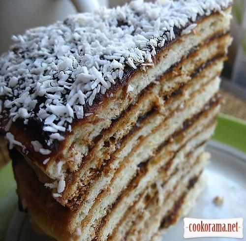 «Жареный» тортик