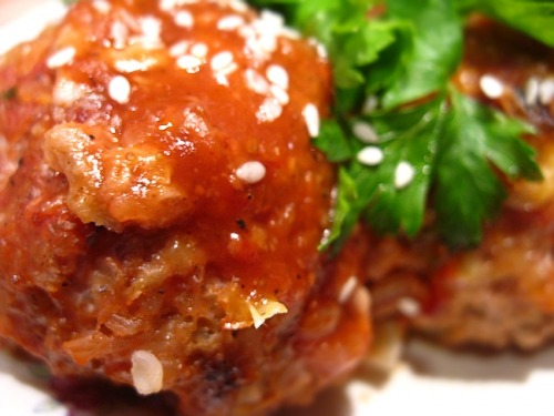 Тюфтельки з гречкою під томатним соусом