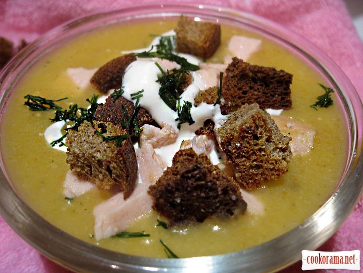 Гороховий суп-пюре