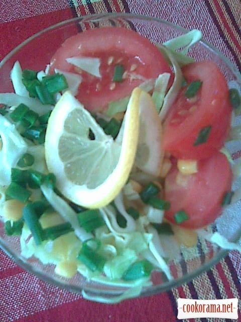 Салат «Світлофор»