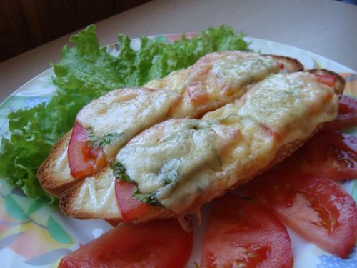 Гарячі бутерброди, або...Сніданок для тінейджера:)