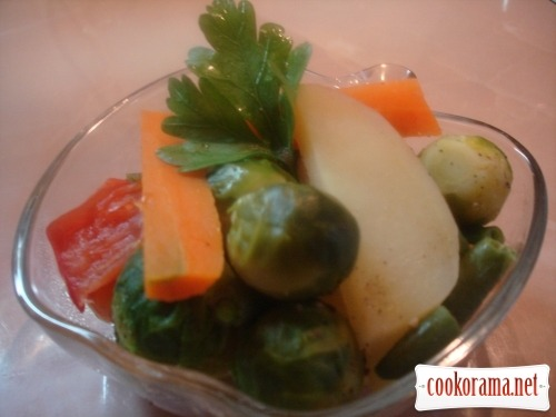 Овочеве рагу на пару